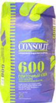 Плиточный клей consolit 601, клей плиточный consolit 601, консолит 601.