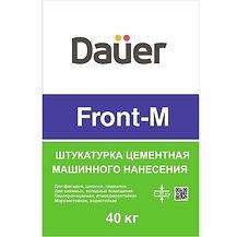 штукатурка цементная dauer front-m, штукатурка dauer, штукатурная смесь dauer front-m, штукатурка дауер фронт-м,