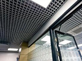 Подвесной потолок Грильято GL-24, подвесной потолок албес Грильято GL-24.