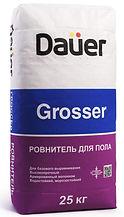 ровнитель для пола dauer grosser, ровнитель пола  dauer, стяжка dauer grosser, стяжка пола дауер,
