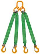 Строп текстильный четырехветвевой, строп четырехветвевой, строп 4ст.