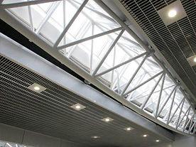 Подвесной потолок Грильято GL-15 жалюзи, подвесной потолок албес Грильято GL-15 жалюзи.