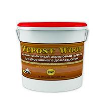 Акриловый герметик wepost wood для дерева, акриловый герметик сазиласт, wepost wood герметик для дерева,