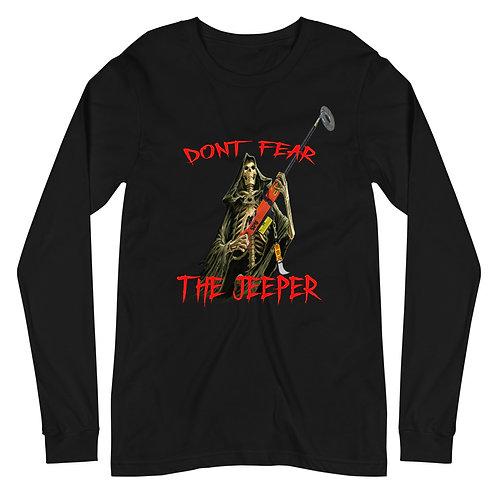 Don't Fear The Jeeper Long Sleeve Tee Subliminal Propaganda