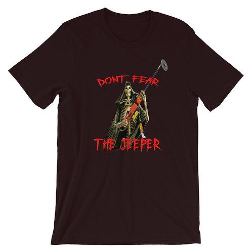 Don't Fear The Jeeper Short-Sleeve T-Shirt Subliminal Propaganda