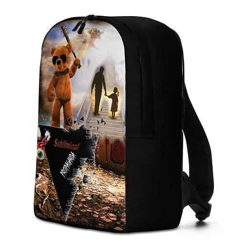 Subliminal Propaganda Minimalist Backpack