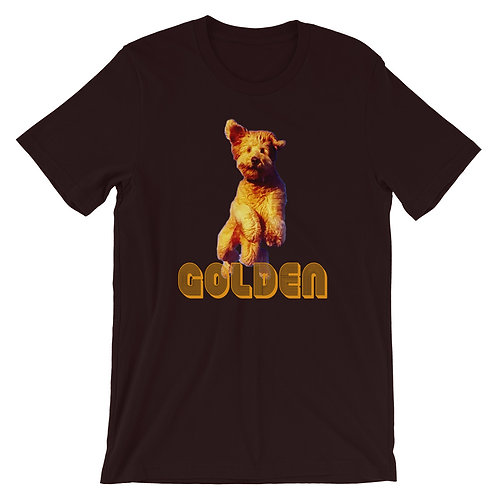 Golden Short-Sleeve T-Shirt