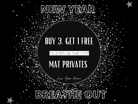 Let's Breath in a New Year. (& kick the old one swiftly out.)