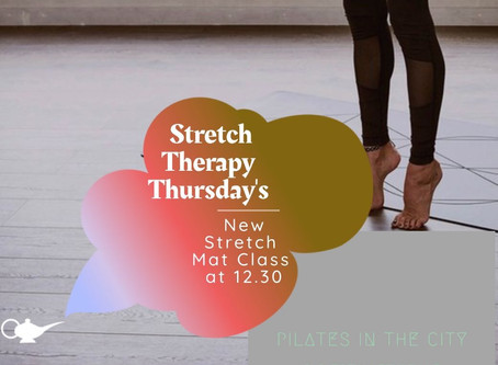 New!🗽✨🧞♂️  Thursday's at 12.30:  Stretch Mat Class