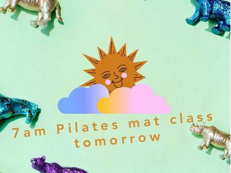 🥽Props Mat Class Tomorrow🌂