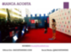 Bianca Acosta Cont Urban Latin Pop Artist Red Carpet Latin Grammys