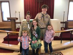 Scout Sunday (2)