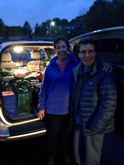 Food pantry outreach