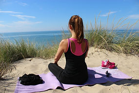 Meditation from the sand dunes