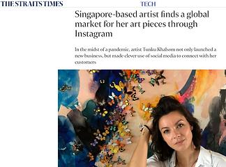 The Straits Times Tunku Khalsom