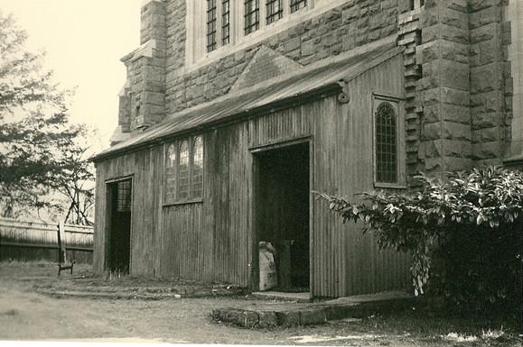original baptistry (unfinished), outside