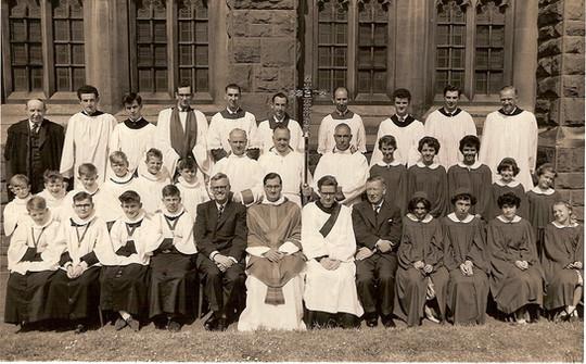 Choir & Servers, June 1961