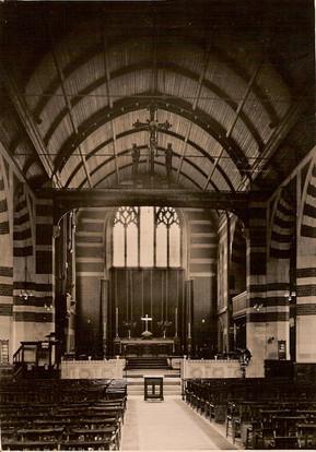 church interior c1937