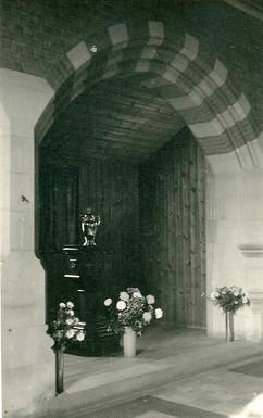 original baptistry, interior