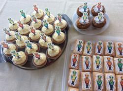 Nutcracker cakes