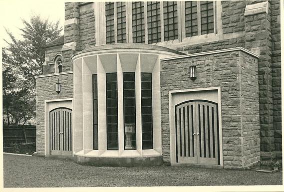 new baptistry, 1962