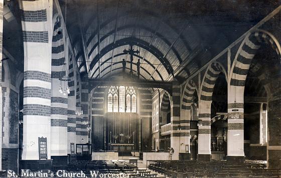 St Martin's interior 1912