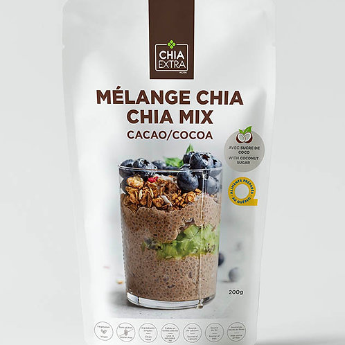 Mélange chia cacao 200g