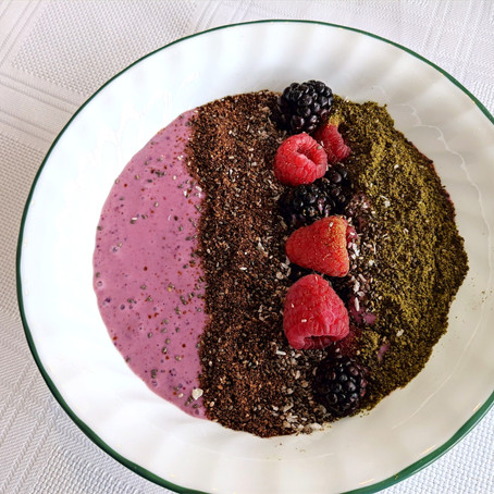 3 Chia breakfast bowl