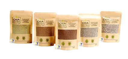poudre chia powder mix chia extra miketo