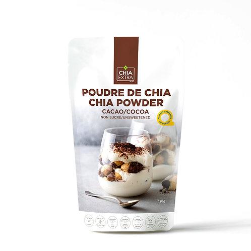 Poudre chia au cacao 150g