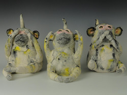 Sanbiki No Saru (Three Wise Monkeys)
