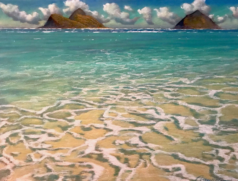 Russel Lowrey, Lanikai Tidal Waves