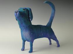 Blue Suede Dog