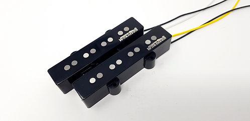 Wilkinson JB Bass Pickups Alnico V- Jazz Set