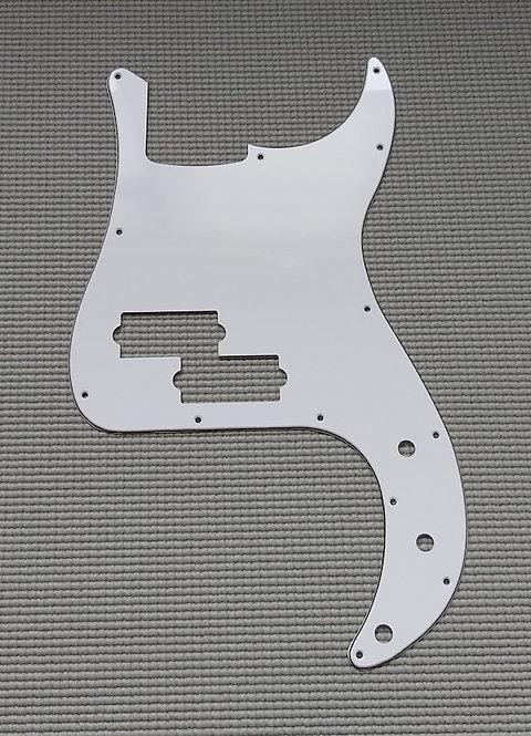 P Type Pickguard 3 Plys - 13 Holes (White)