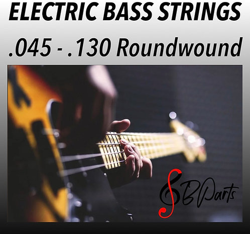 """5 Strings set Bass strings Nickel Roundwound 
