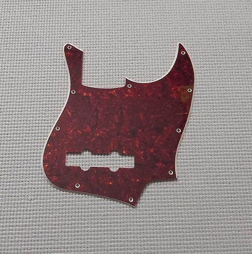 J Type Pickguard 3 Plys - 11 Holes (Tortoise)