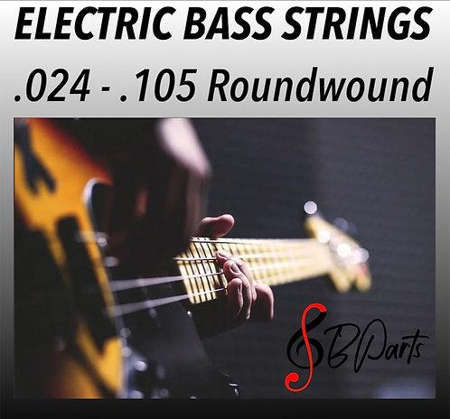 """6 Strings set Custom strings Nickel Roundwound   .024 - .105   30"""" Scale"""
