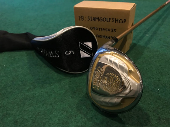 Fairway Woods 5 Katana Sniper Gold ก้าน Speeder556 Flex R