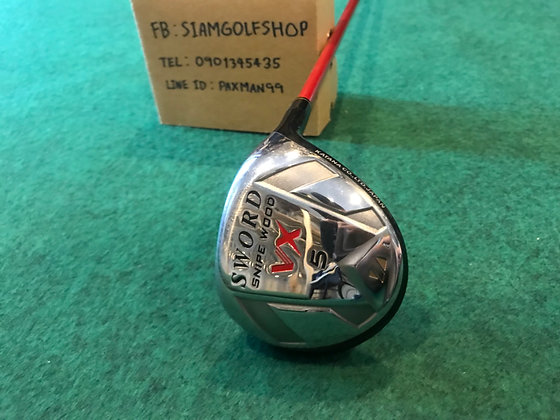 Fairway Woods 5 Katana Sword VX Loft20 ก้าน Motore 55K Flex R