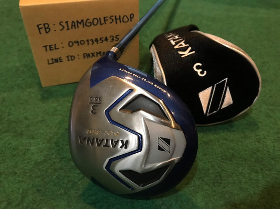 Fairway Woods 3 Katana PTC-350 Loft16 ก้าน Speeder589 Flex SR