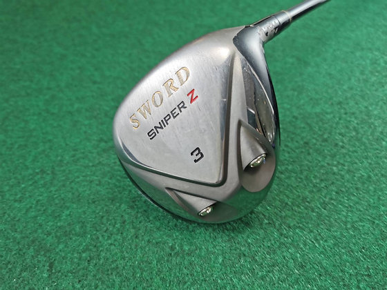 Fairway Woods 3 Sword Sniper Z ก้าน Speeder589 Flex R
