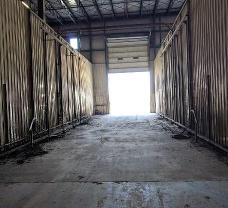 Industrial Wash Bay