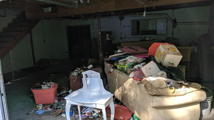 Property clean out