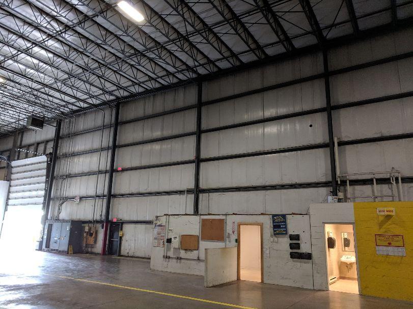 High area warehouse wall