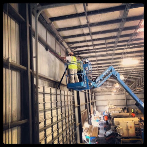 Warehouse site dust remediation cleaning