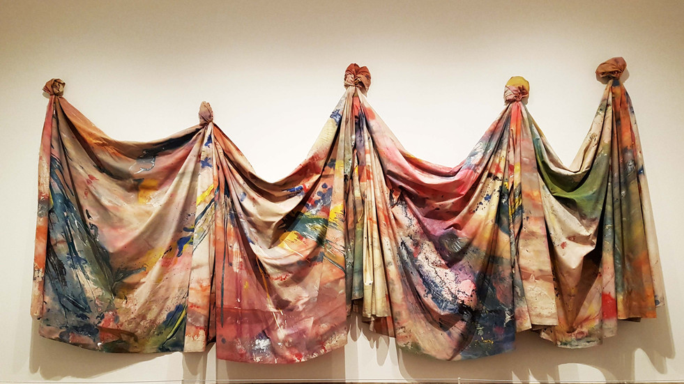 Sam Gilliam Carousel Change 1970 (Soul of a Nation: Art in the Age of Black Power)