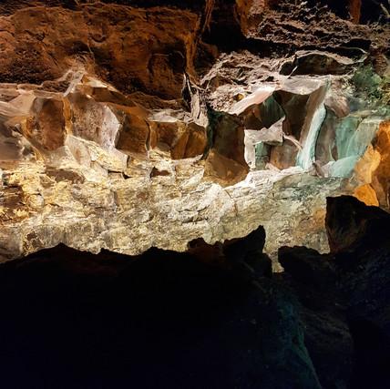 Cueva de los Verdes Lanzarote, October 2016
