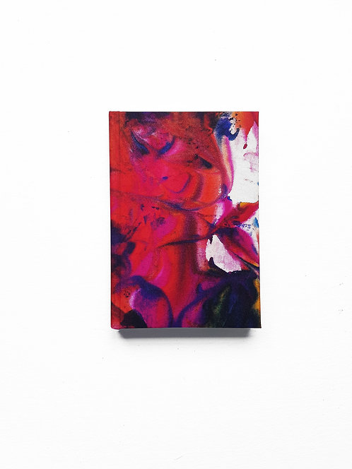 Magenta Marble Notebook