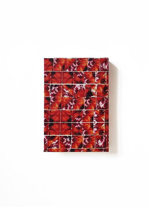 Orange Grid Notebook